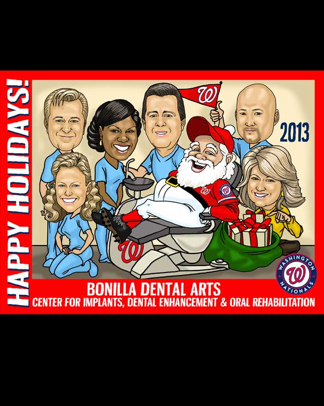 commercial use caricature by luis arriola