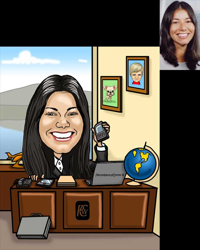 farewell caricature by luis arriola