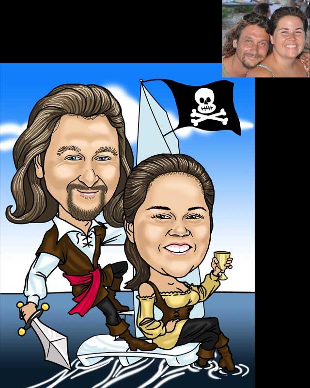 pirate-couple