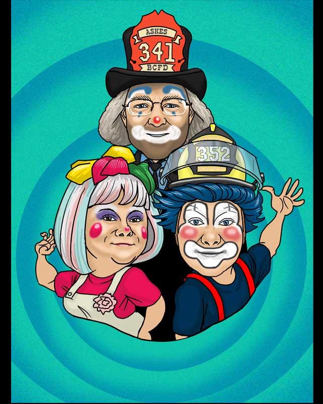 clounds caricature