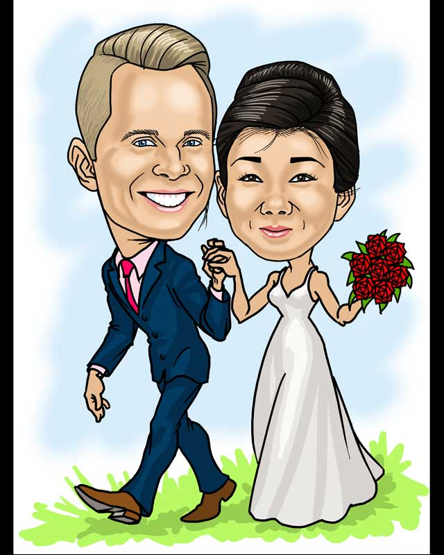 bride-groom-grass