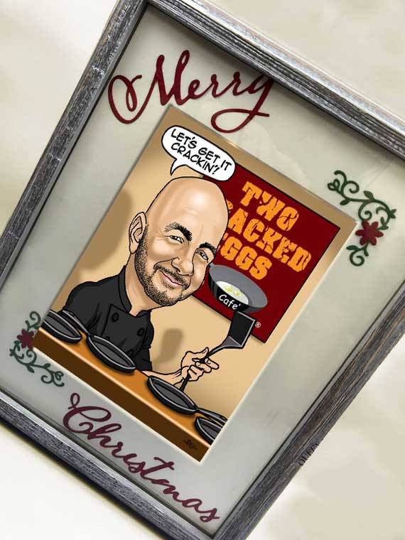 Christrmas caricature gift