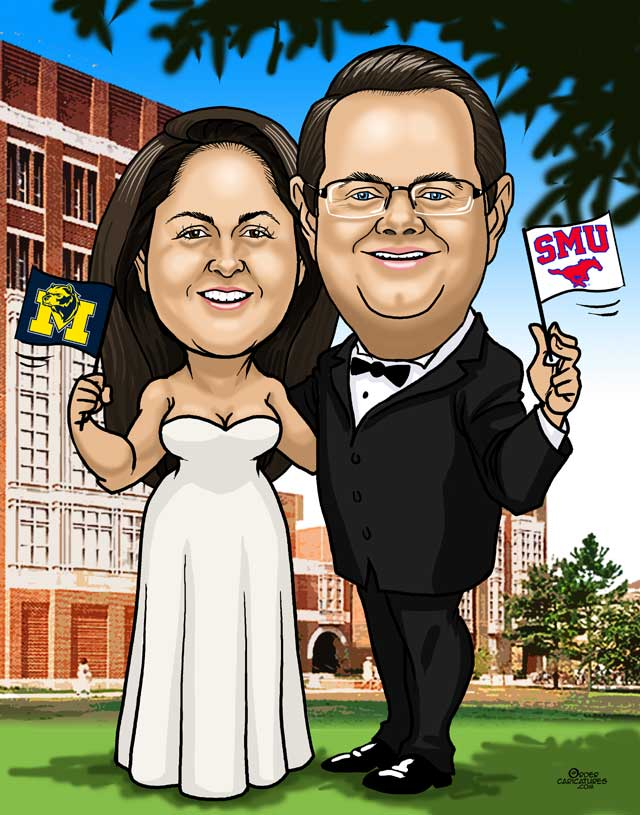 college-bride-groom