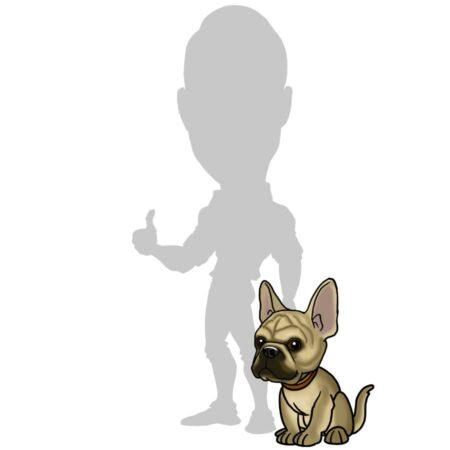add pet to caricature