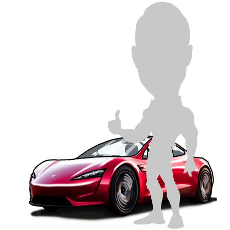 add vehicle to caricature