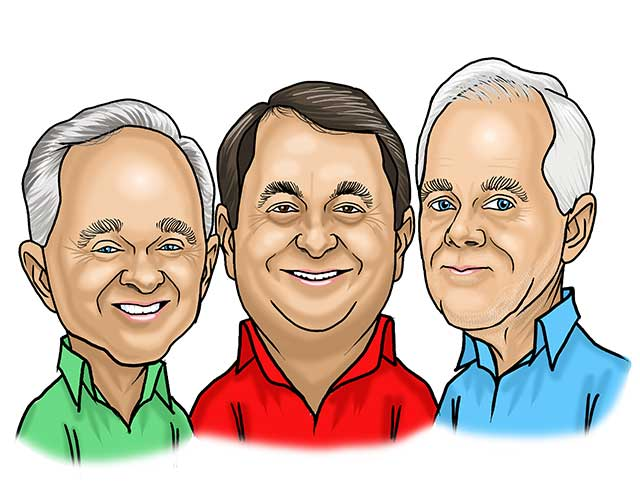 group caricature