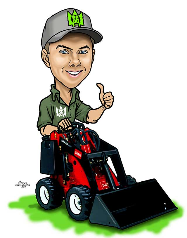 commercial caricature