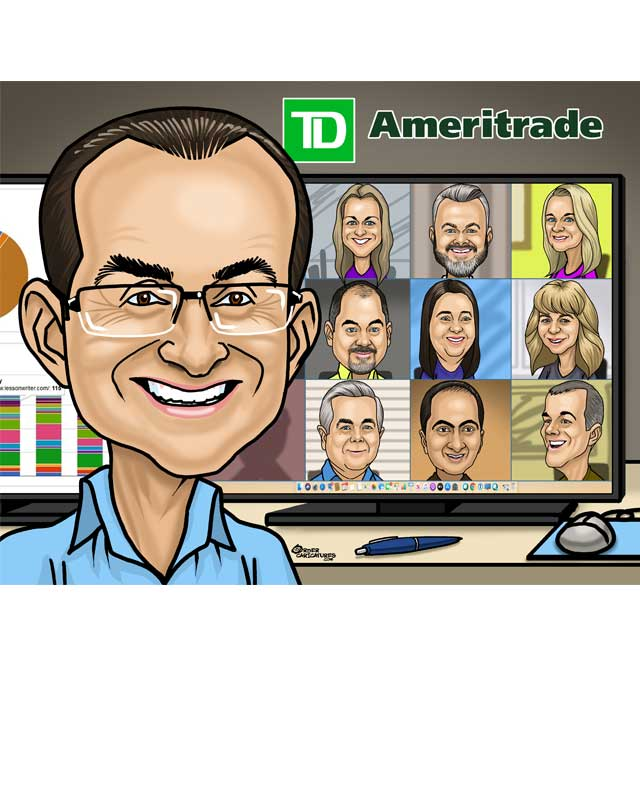 office caricatures